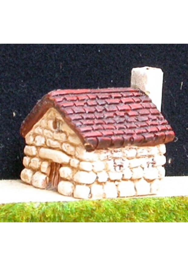 P6 Maison en pierre et toit de tuiles