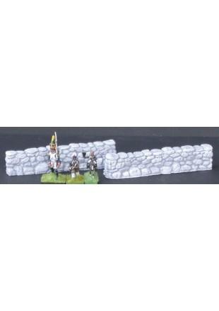 MUR1 2 murs droits en pierre