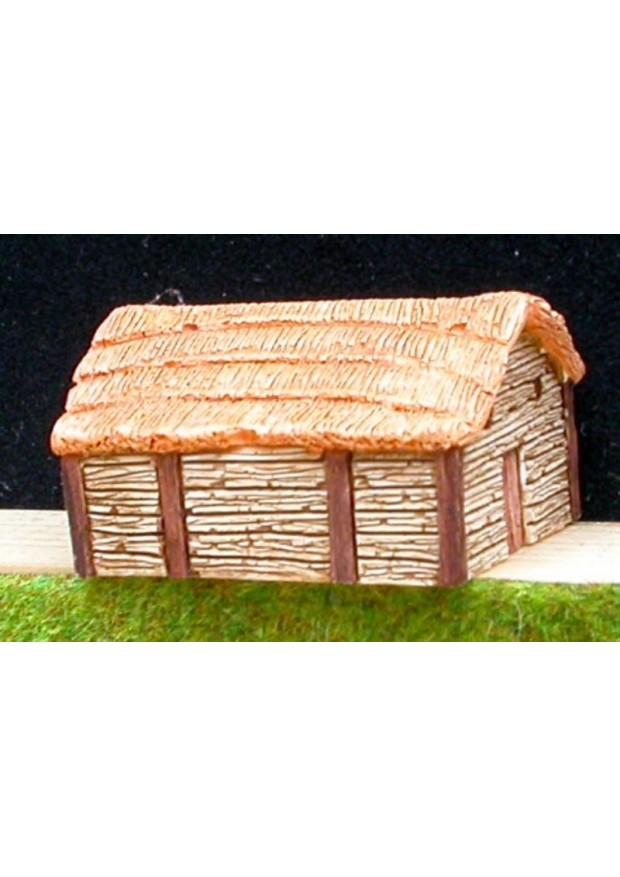 A3 Maison commune/grange saxonne