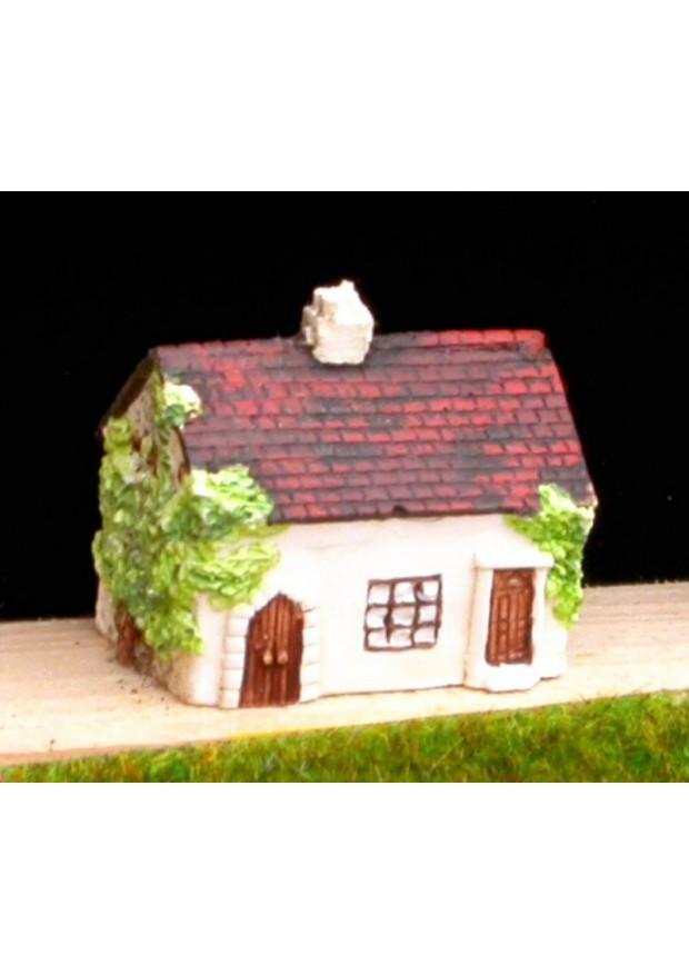 V1 Maison avec lierre
