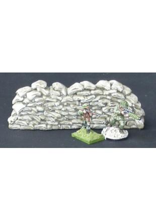 B5 Mur de sacs de sable