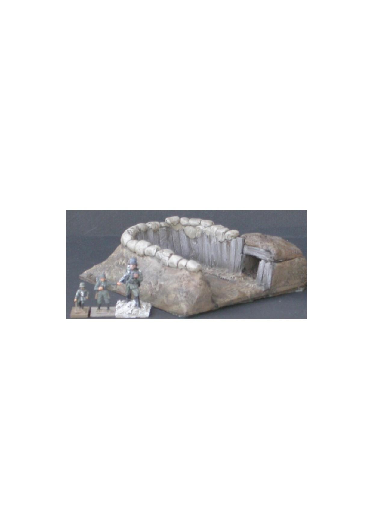MOD1 Position de tir pour char