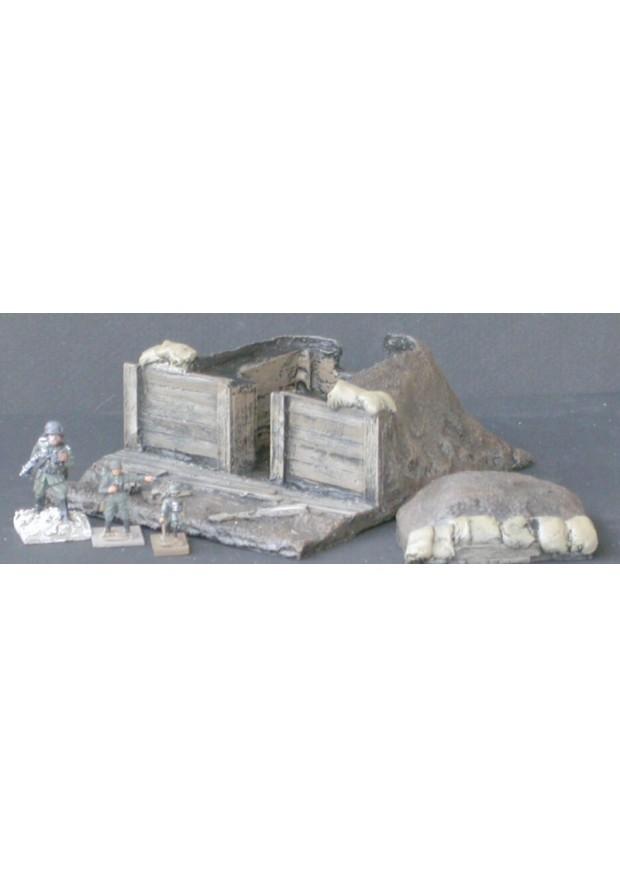 MOD6 Casemate couverte de terre