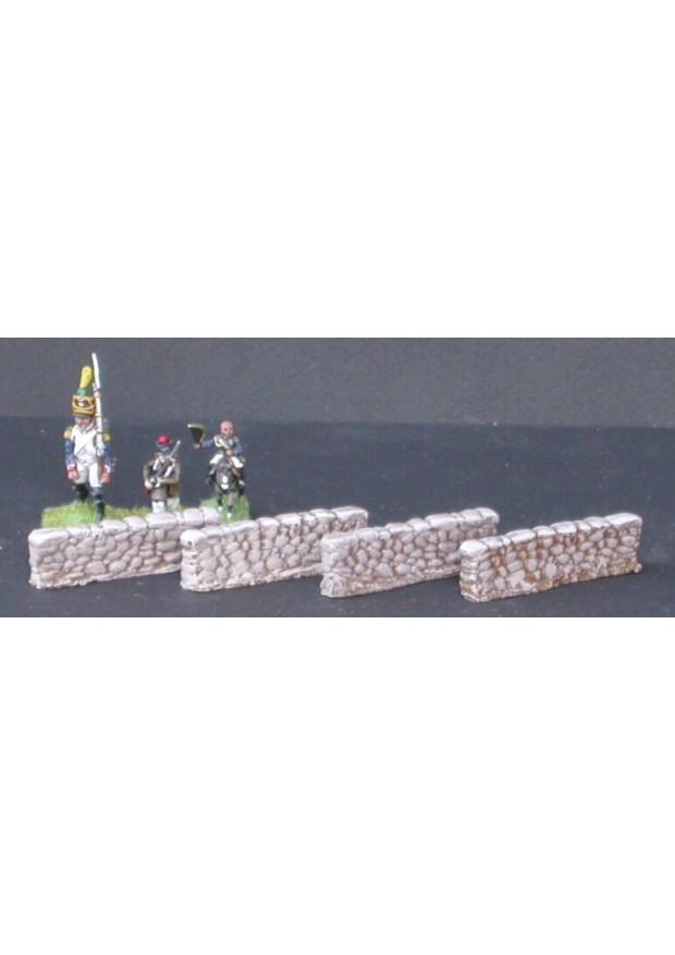 MUR3 4 petits murs en pierre