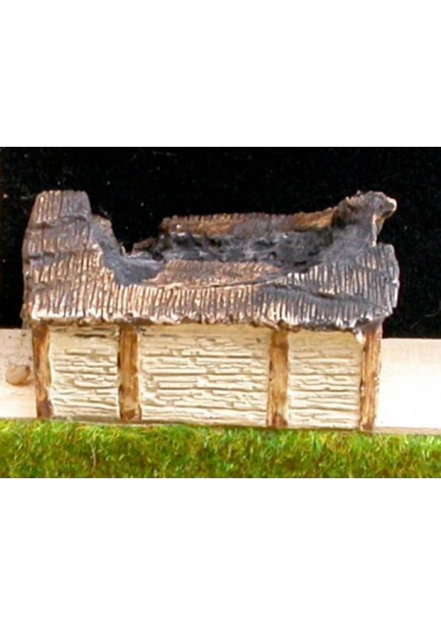 A6 Maison commune/grange saxonne ruinée
